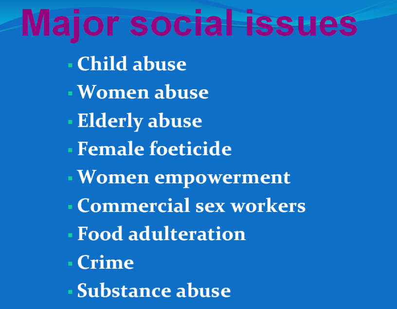 Social-issues-affecting-community-health-nursing-ppt