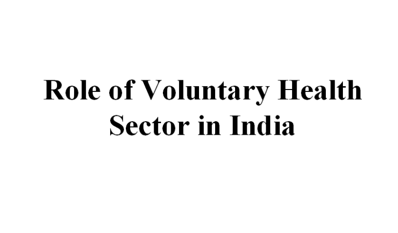 Role-of-Voluntary-Health-Sector-in-India-COMMUNITY-HEALTH-NURSING-ppt